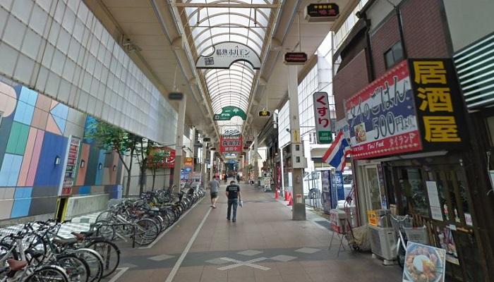 神戸新開地商店街