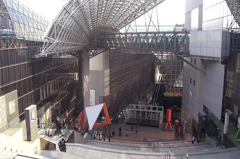 京都駅大階段(JR伊勢丹)